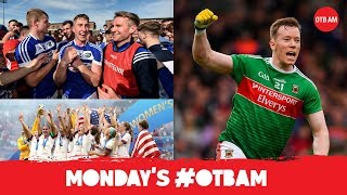 LIVE: OTB AM | Lovely Laois, Super 8s with Kieran Donaghy, Mayo, USA win World Cup, Paul Pogba |