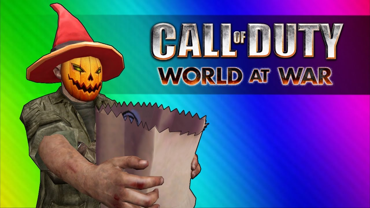 COD Zombies Funny Moments - Halloween Edition!