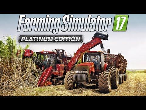 Farming Simulator 17 Platinum Edition - Cana-de-açúcar, Mapa Brasileiro & Novas Marcas