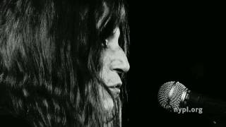 Patti Smith | My Blakean Year | LIVE from the NYPL