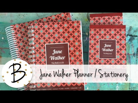 Jane Walker Planner & Stationery Show & Tell