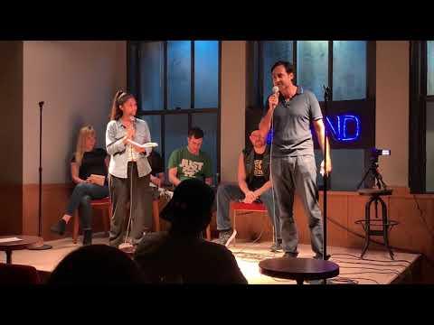 Comedy Fight Club 8.13.19: Linette Palladino Vs. Sandip Sen