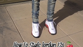 how to style jordan 13s with skinny jeans   review on foot