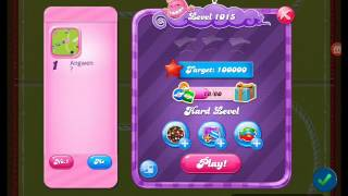 Candy Crush Saga - Level 1015 - No boosters ☆ :)