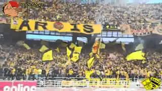 ARIS PTOLEMAIDA FANS (30.000 ARIS fans in Athens - Greek Cup Final 2010