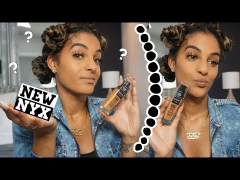 NYX CANT STOP WONT STOP FOUNDATION REVIEW thumbnail