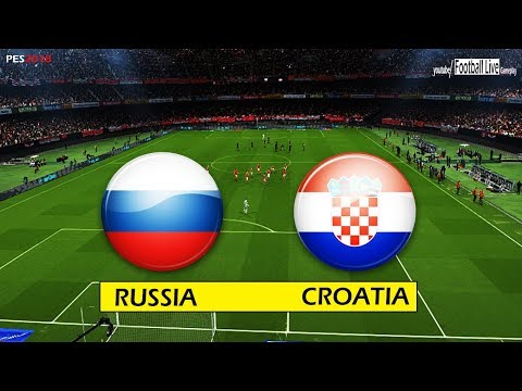 PES 2018   RUSSIA vs CROATIA   Full Match & Amazing goals   Gameplay PC