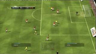 FIFA 09 (PS3) CHAMPIONS LEAGUE FINAL MANCHESTER UNITED vs FC BARCELONA OVERTIME