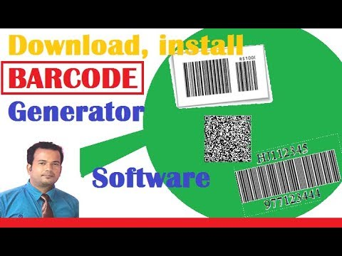 Download , Install Barcode Generator Software