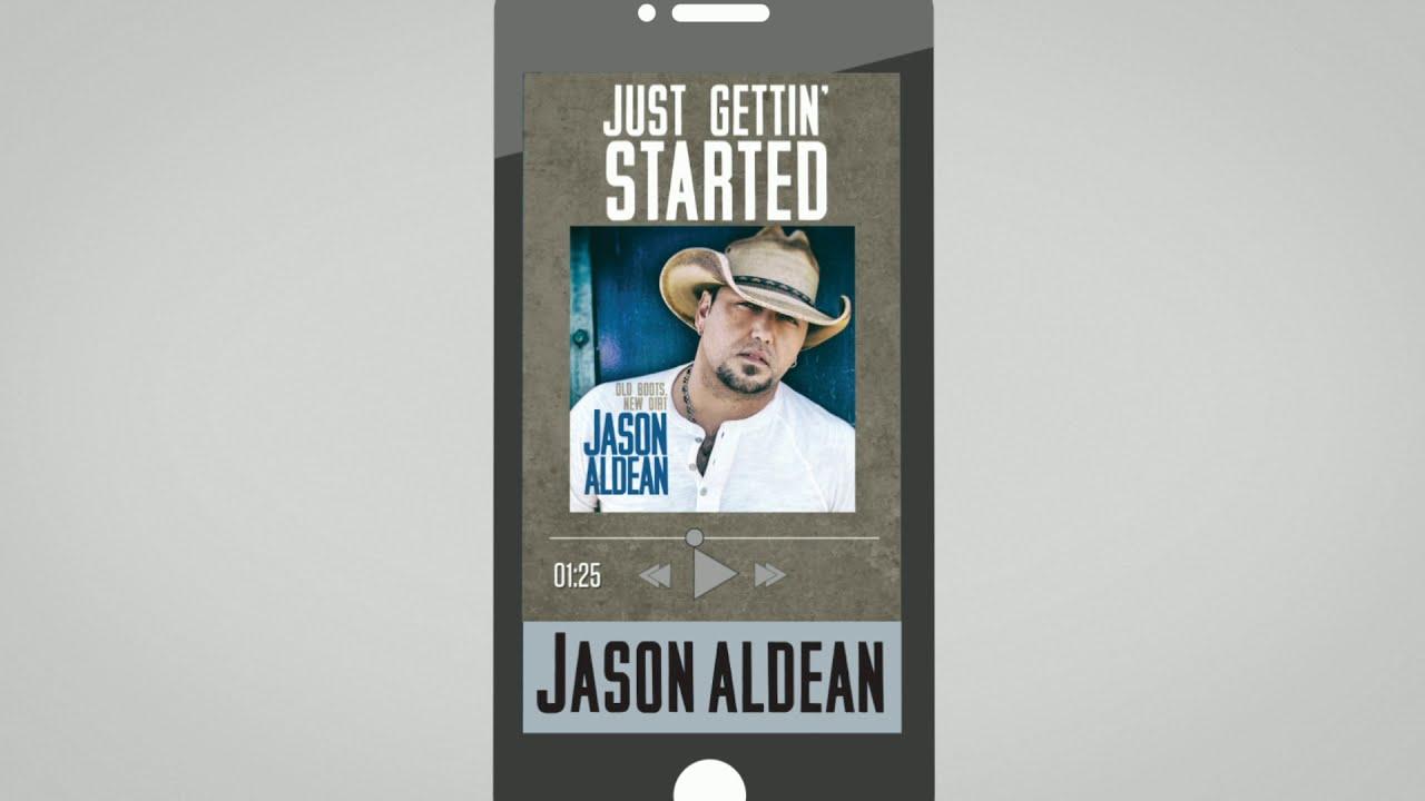 Arti Lirik dan Terjemahan Jason Aldean - Just Gettin Started