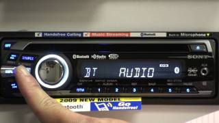 Sony Xplod Bluetooth BT Head Unit Overview