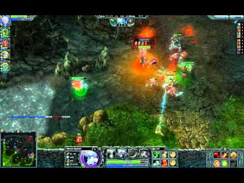 видео: Играем в heroes of newerth