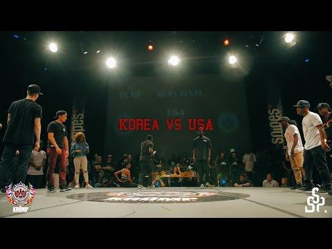 USA vs Korea | Team Battle | EBS WORLD KRUMP CHAMPIONSHIP 2016