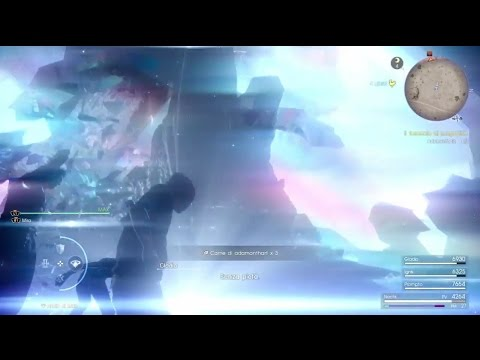 Final Fantasy XV - Adamanthart ucciso con 1 colpo (Anello di Lucis)