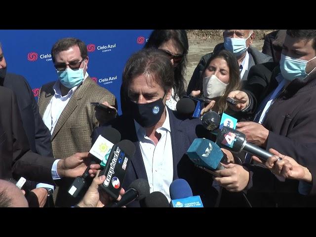 ℹ INTENDENTE DEPARTAMENTAL DESTACÓ LA TRASCENDENCIA DE LA  PLANTA CEMENTERA CIELO AZUL.