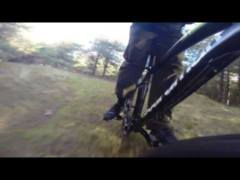Mountain biking in north wales.