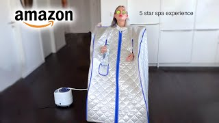 I tried At-Home Spa products from Amazon