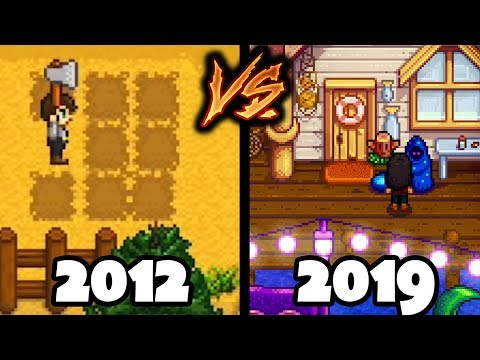 Evolution Of Stardew Valley - From 2012 To 2019