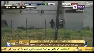 فيديو.. لحظة استسلام «سيف الدين عمر» مختطف الطائرة المصرية بقبرص