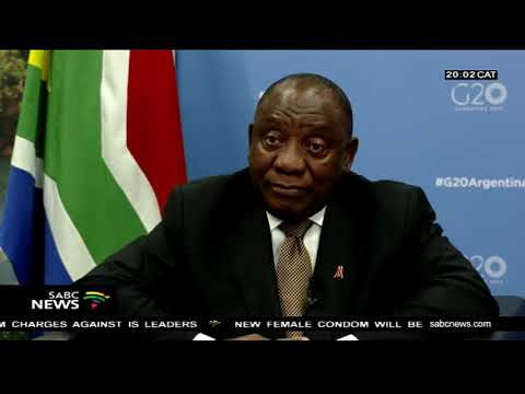 INTERVIEW: President Cyril Ramaphosa at the G20 summit