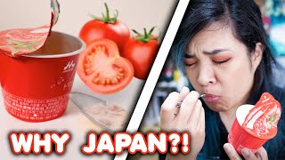 I Tried Japan's Tomato Yogurt... - WHY, JAPAN?!