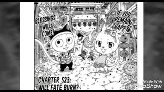 Fairy tail chapter 523 - Will fate burn?