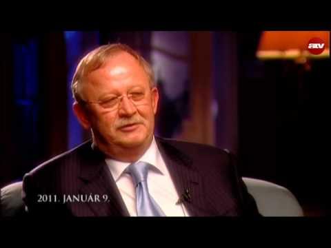 Göncz Árpád volt köztársasági elnök utolsó televíziós interjúja 2011-ben