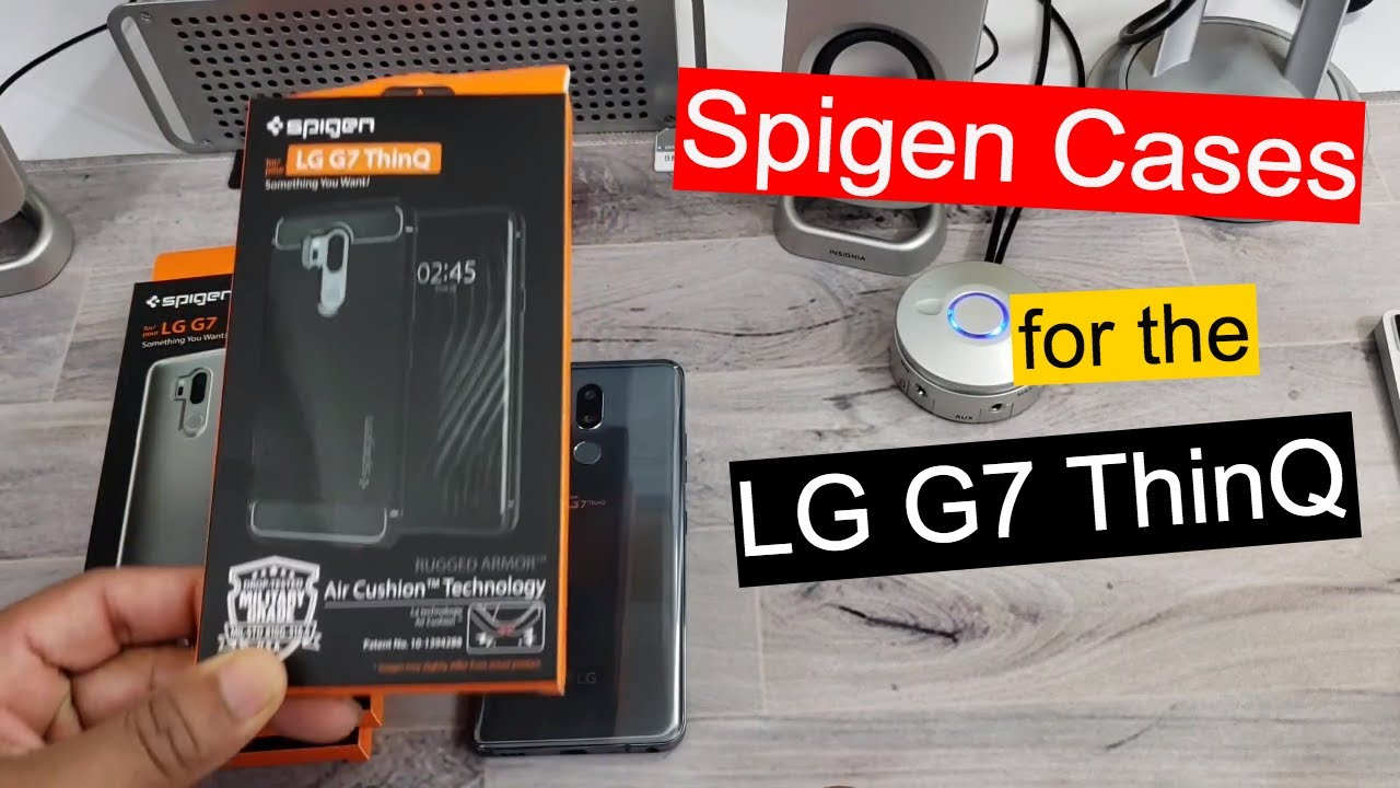 wholesale dealer 96bfd 0b5c1 Spigen Cases For the LG G7 ThinQ