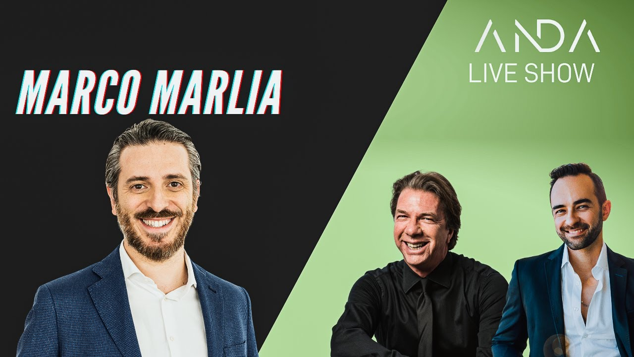ANDA Live Show con ospite Marco Marlia
