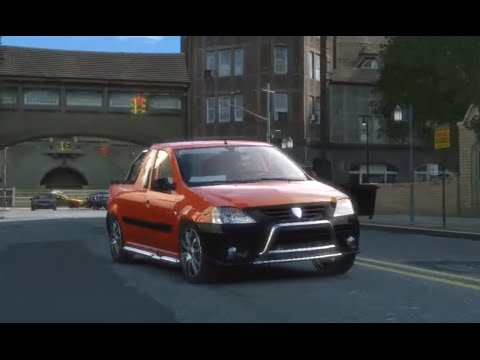 dacia logan pick up elia tuned gta iv youtube. Black Bedroom Furniture Sets. Home Design Ideas