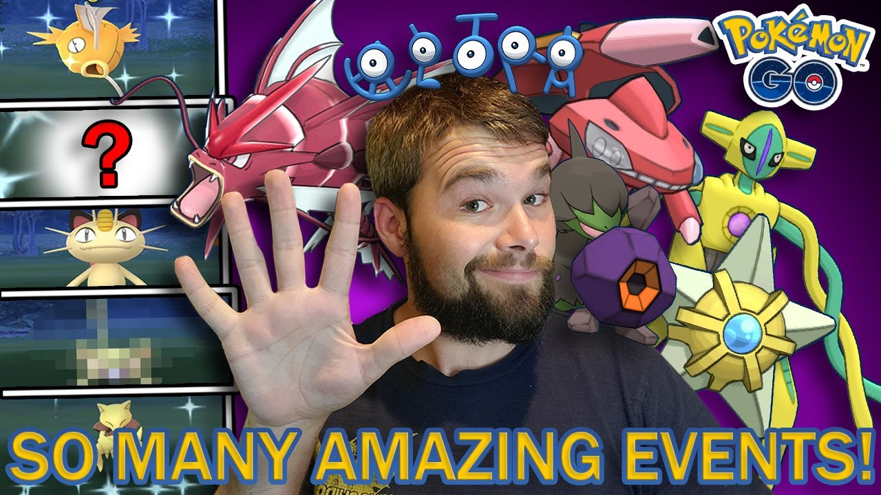5 SHINY POKEMON CAUGHT! MAGIKARP CDAY! SO MANY NEW EVENTS ON THE WAY! (Pokemon GO)