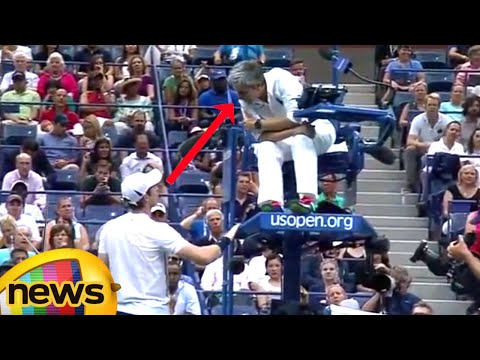 Andy Murray Lost Quater Finals At US Open After Bizarre Sound Interrupted Play | Mango News
