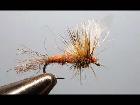 Brindle Cripple Attractor Mayfly | Yellowstone Country Fly Fishing