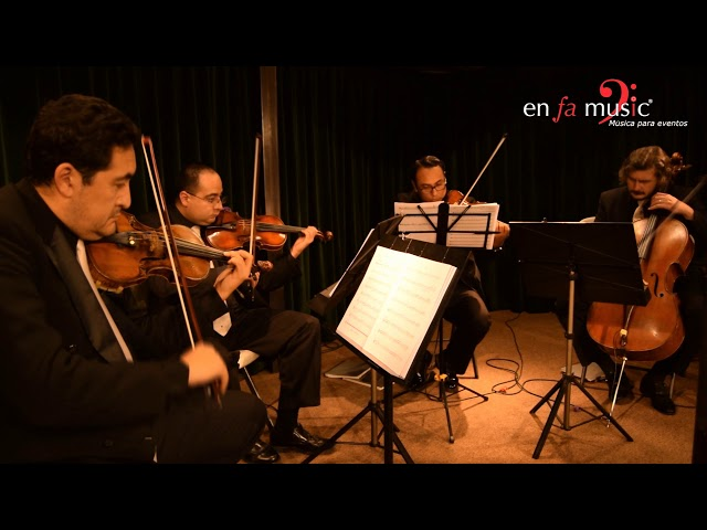 Marry you - Cuarteto de cuerdas