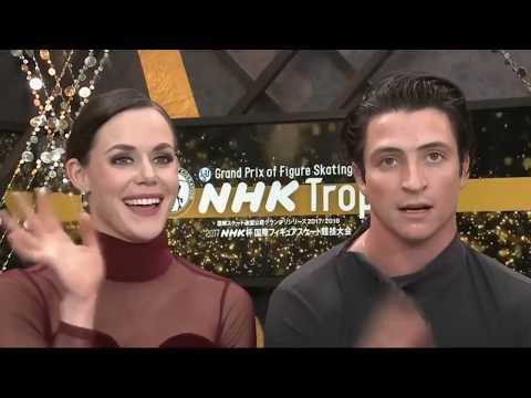 Tessa Virtue & Scott Moir. FD. NHK 2017. No commentary CBC.