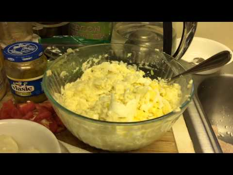 Салат из картошки и особый ингредиент