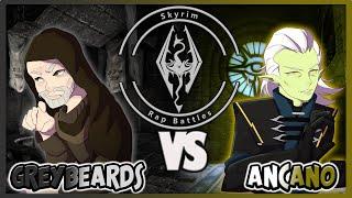 SKYRIM Rap Battles: Tнe Greybeards Vs Ancano