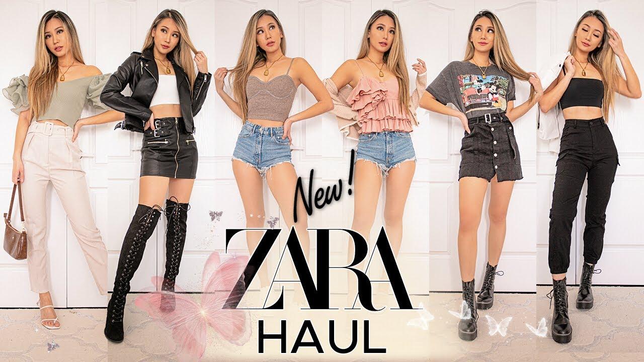 ZARA try on HAUL *NEW IN* | spring/summer 2020