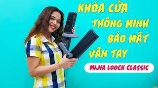 Khóa cửa thông minh Mijia LOOCK Classic tích hợp mở khoá vân tay, smartphone, mật khẩu, chìa khoá