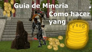 Metin2.es Guia de Mineria Para Hacer Yang