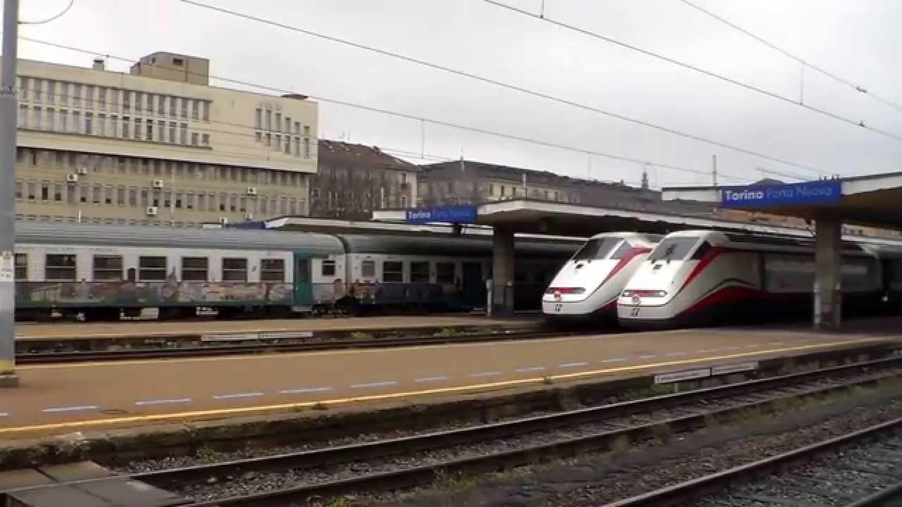 Manovra treno con partenze e arrivi stazione di torino - Partenze treni verona porta nuova ...