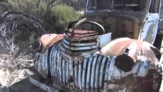 Abandoned Early Model GMH Chev Holden Truck - 440 Ford Cortina & Old Australian Farm Machinery
