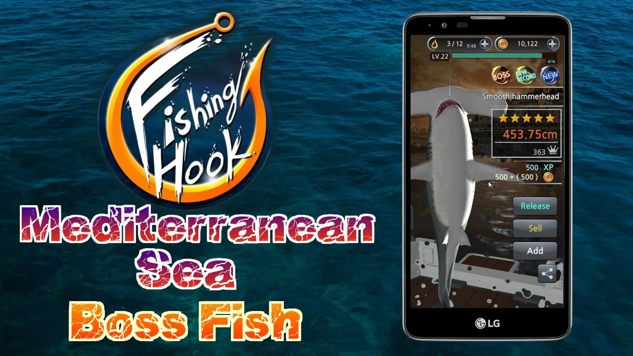 ApkMod1.Com Fishing Hook v2.1.2 + MOD (Mod Money) download free Android Game Sport