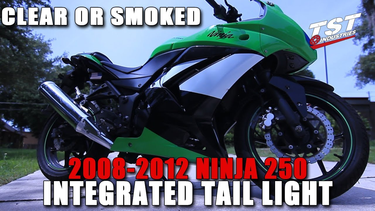 How To 2008 2012 Ninja 250r Integrated Taillight Installation By Signal Stat 600 Wiring Diagram Tst Industries