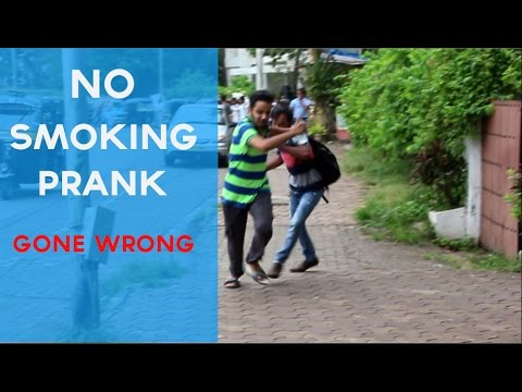 No Smoking Prank Gone Terribly Wrong ! | Pranks In India