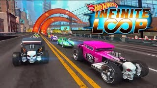 Hot Wheels Infinite Loop - iOS / Android Early Gameplay