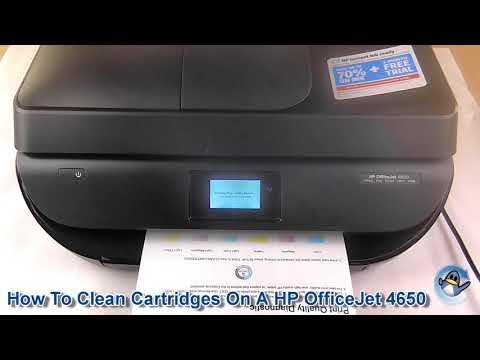 Cartridge Head Clean HP OfficeJet 4650