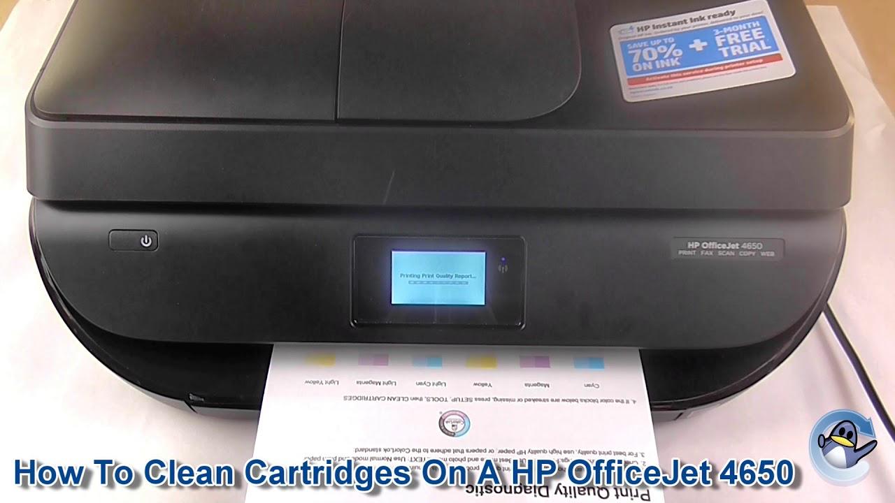 HP OfficeJet 4650: Printer Basics