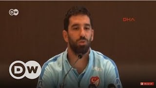 Arda Turan'dan milli takıma veda - DW Türkçe