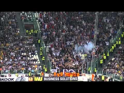 JUVENTUS Vs Lione  Ultras Olympique Lyonnais